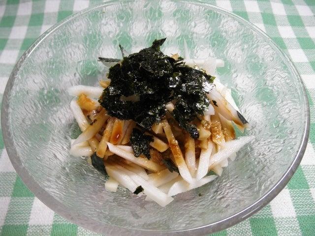 大好き☆ベランダ菜園-菊芋たんざくワサビ醤油