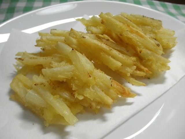 大好き☆ベランダ菜園-菊芋の天ぷら