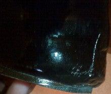 $靴磨き職人のダンディズムブログ-黒より黒いエナメル靴 復活!4