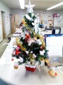 お客さまは、派遣スタッフさま-クリスマスツリー