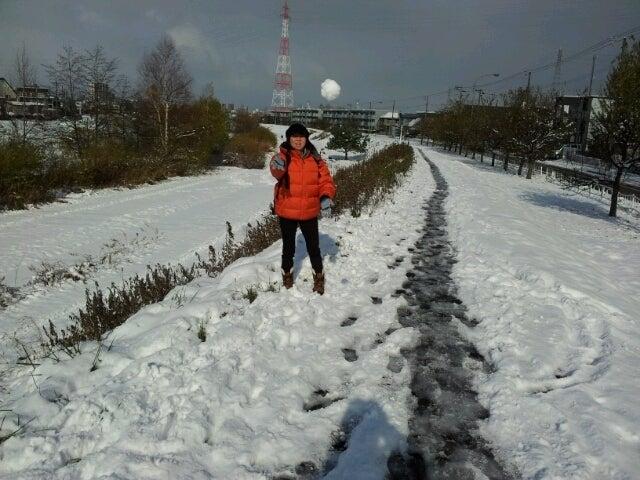 歩き人ふみの徒歩世界旅行 日本・台湾編-雪玉