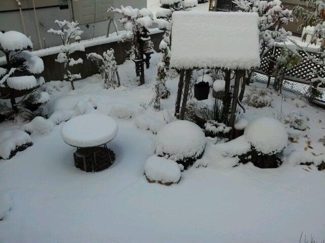 歩き人ふみの徒歩世界旅行 日本・台湾編-雪の朝