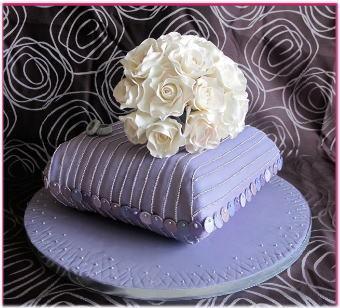 【パーフェクトウェディング宣言!】-エレガントなウェディングケーキ