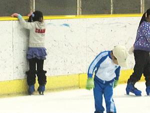 りえのささやかな日常-初スケート