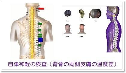 背骨・骨盤のゆがみ専門 福岡 まごころカイロプラクティック-自律神経検査