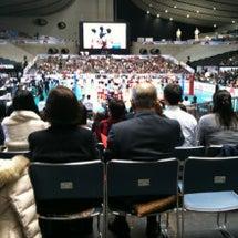 女子バレー!日本対ド…