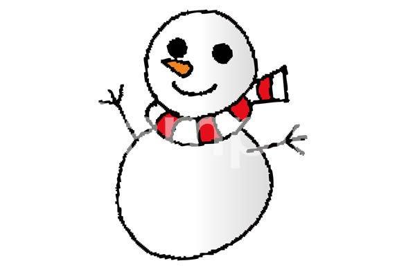 イラスト 雪だるま|無料素材 ...