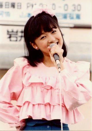 80年代懐かしのアイドル画像案内所-岩井小百合