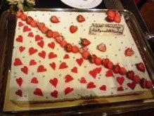 遥香の近況日記-ウエディングケーキ