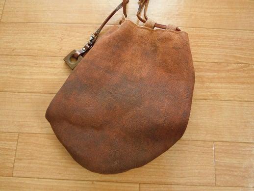 $Yukoのハンドメイド+着物雑記-酒袋の信玄袋