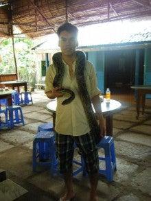 かおりんの舞台裏-蛇のお兄さん