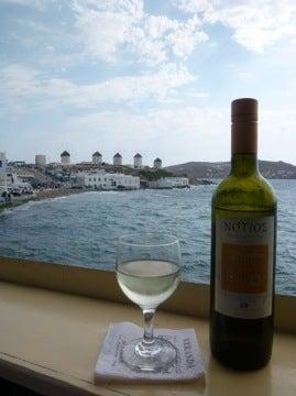風車とワイン1