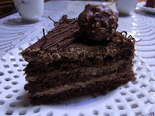 神戸のカラーリスト スタイリスト  トータル素敵プロデューサー☆みつこのブログ-チョコケーキ