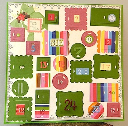カレンダー アドベントカレンダー 作り方 : 手作りアドベントカレンダー ...