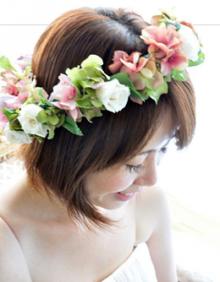 プリザーブドフラワー・開花工房・渋谷のバーミリオンハート-花飾り