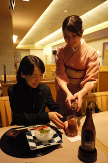 日本料理明石 阪急懐石 東京新阪急ホテル築地
