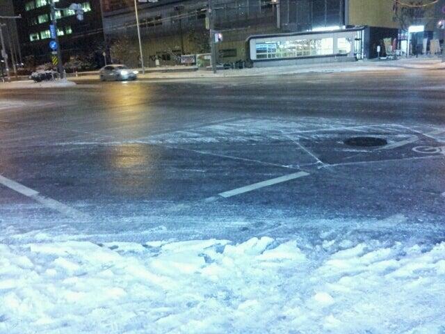 歩き人ふみの徒歩世界旅行 日本・台湾編-凍てつく道2