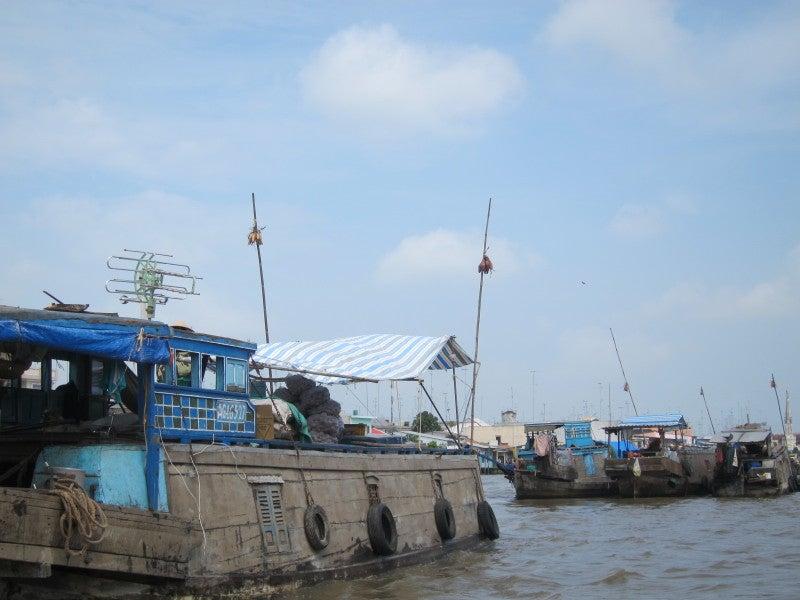 東南アジア - 旅ブログ-水上マーケット