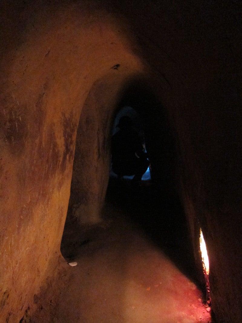 東南アジア - 旅ブログ-クチ・トンネル