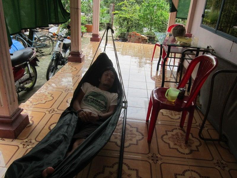 東南アジア - 旅ブログ-ハンモック
