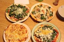 日々 更に駆け引き-ピザ4種