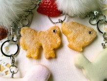 handmade fake sweets life ~h.f.l ~-アイシングクッキー&シュガーパイのBagチャーム