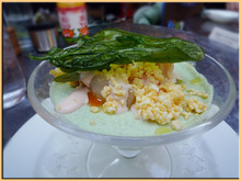 Kirin's Cafe  Style  /  カフェ・雑貨・グルメ & 街歩き-SELAN ほうれん草のムース