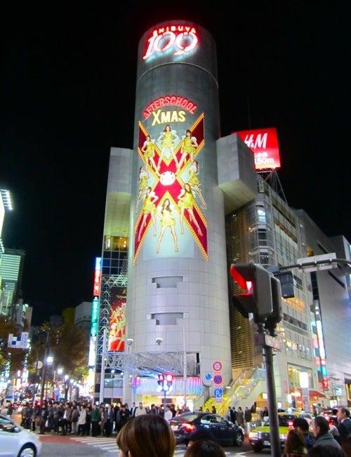 $∞最前線 通信-渋谷109 クリスマス3