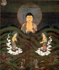 夫婦世界旅行-妻編-京都禅林寺の山越阿弥陀図