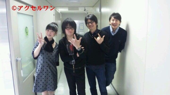 アクセルワンスタッフのブログ2011年12月の記事(81件)森川智之と東條加那子