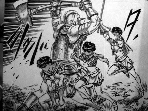 きよの漫画考察日記738 ベルセルク第7巻|きよの漫画考察日記