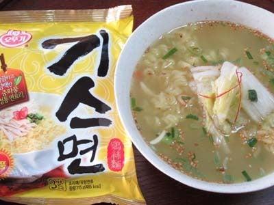 韓国料理研究家・ほんだともみのコリアンワールド-キス麺