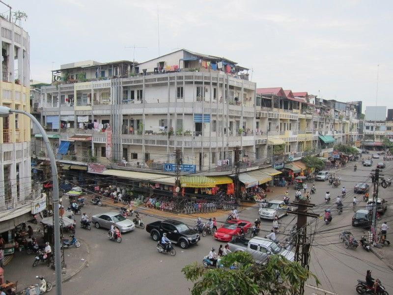 東南アジア - 旅ブログ-プノンペン景色