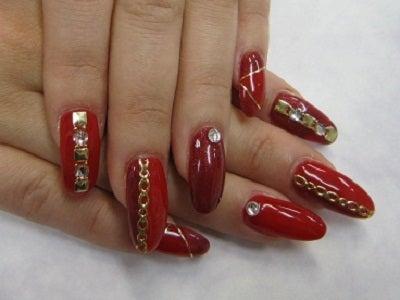 ビューティーマジック ネイルサロン&スクール-赤2色