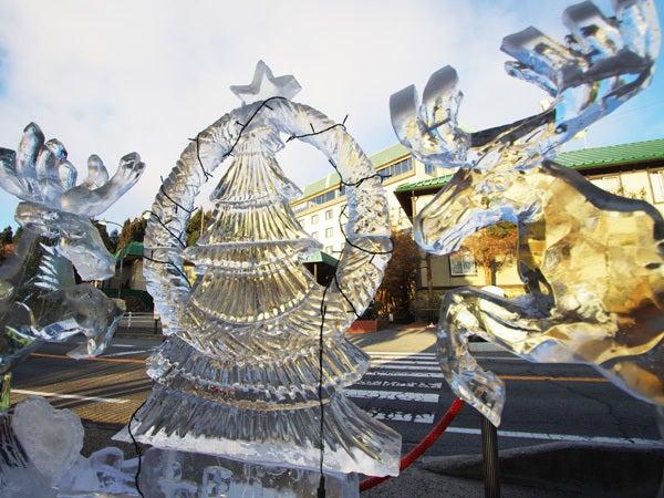 神戸・六甲山ホテルスタッフの「四季折々」-111225氷の彫刻