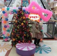 ショッピングモールのクリスマス