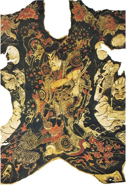 $歪んだものほど美しい-原色日本刺青大鑑 刺青標本「義経千本櫻」