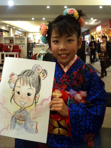 似顔絵師 泉 華のブログ