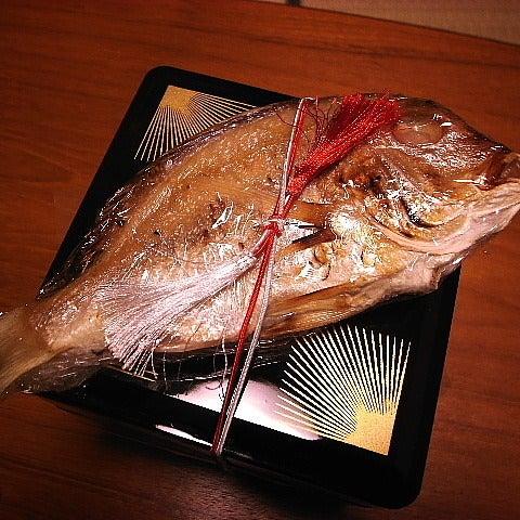 ナポリタンな毎日 (札幌フォト日記)-お重の上に鯛が!