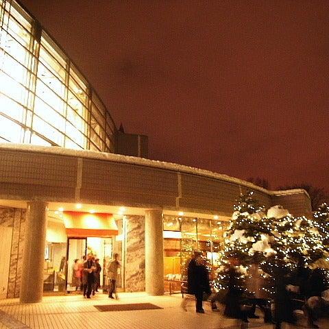 ナポリタンな毎日 (札幌フォト日記)-ホールを出ると、近くのお寺から除夜の鐘の音が