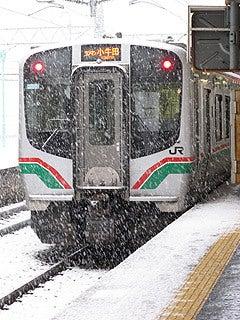 晴れのち曇り時々Ameブロ-東北本線一ノ関駅にて