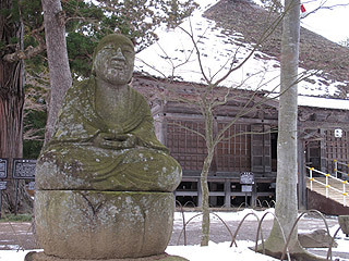 晴れのち曇り時々Ameブロ-毛越寺常行堂とお地蔵様