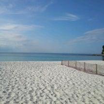 正月の白浜には、虹が…