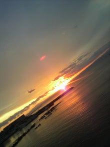 $笑顔美人のすすめ-夕陽