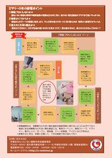 ミヤリー日記 宇都宮のマスコット「ミヤリー」の公式ブログ-節電チラシウラ