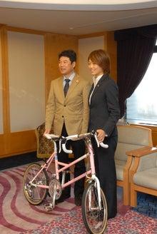 ミヤリー日記 宇都宮のマスコット「ミヤリー」の公式ブログ-08 自転車