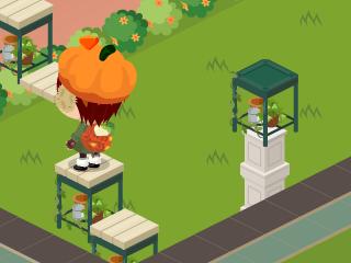 $ピグライフ庭改造研究室~空中散歩の庭