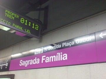 サグラダファミリア駅