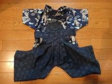 愛犬yuzuとyuzuママ手作り洋服屋さんの日々★-袴