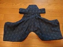 愛犬yuzuとyuzuママ手作り洋服屋さんの日々★-袴後ろ
